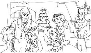 Small Picture Sofia The First Coloring Pages Getcoloringpages Within Sofia The
