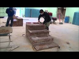 design build brick steps