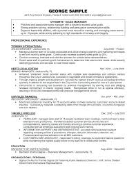 10 Awesome Finance Manager Resume Sample My Blog
