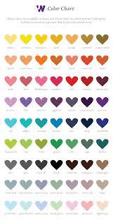 Wedding Anniversary Color Chart Elegant Wedding Anniversary Color Gift Party Planning