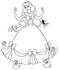 Small Picture disney coloring pages cinderella free coloring pages cinderella