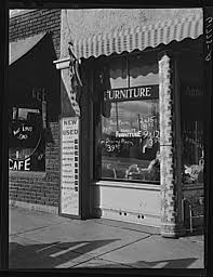 Secondhand furniture store Chanute Kansas 1940
