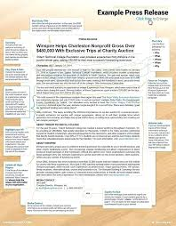 Free Press Releases Template 8 Release Templates Sample News