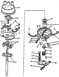 distributor parts for ford 8n tractors asn 263843 distributor assembly ford 8n after serial number 263843