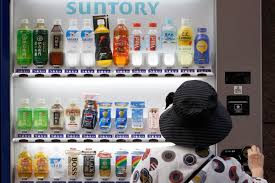 Japanese Vending Machine Manufacturers Fascinating One Obstacle Won't Budge In Japan's Fight With Deflation The New