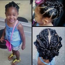 Images Coiffure Afro Petite Fille Tresses Plaqu Es Enfant Id