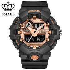 compare prices on mens western watches online shopping buy low 2017 waterproof dive watches smael brand men s digital sport watches male clock dual display erkek saat