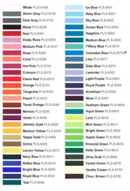 Studious Thermoflex Plus Color Chart 2019