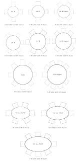 round table size for 8 4 person table size 8 person table dimensions round table size