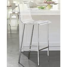 chic modern bar stools. Delighful Chic A Clear Seat Paired With Chrome Finish Creates A Chic Modern Look For Your  Home Bar  Barstools Pinterest Chrome Finish And Bar With Chic Modern Stools