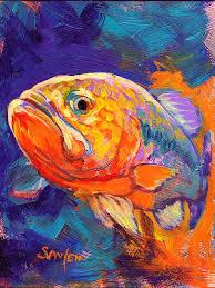 largemouth bass sport fishing painting freshwater game largemouth bass nation