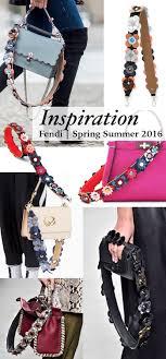 fendi spring summer 2016 flower bag strap diy inspiration
