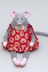 <b>Игрушка мышка</b> в сарафане, мышь - символ 2020 года ...