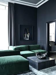 minimalist living room furniture. Minimalist Living Room Furniture Sectional Emerald Sofa For A Table .