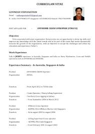 Certified Crane Operator Sample Resume Resume Crane Operator Resume 4