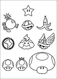 Mario Bross Kleurplaten 17 Silhouette Cameo ぬり絵 マリオ