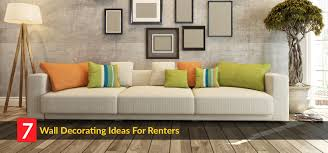 Wall Decoration Living Room Home Daccor Ideas Here How Renters Can Decorate Walls