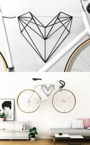 Hang Bike have created Heart, a new minimalist wall-mounted bike rack  design in