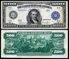the all the info on the 500 bill yes