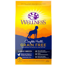 Complete Health Grain Free Large Breed Wellness Pet Food