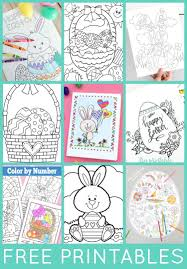 Satisfying Easter Printable Coloring Pages 12 Coloring Pages