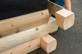 Modulog Solid Cedar Log Siding Cedar Log Cabin Siding