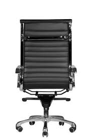 office chair back. Wobi Office Black Eames Style High Back Chair