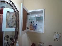 Cabinet And Lighting Recessed Medicine Cabinet And Lighting T