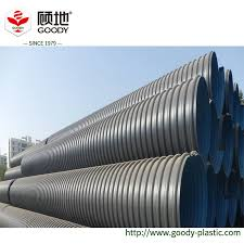 china 110mm hdpe perforated pipe for grassland rainwater drainage china hdpe double wall corrugated pipe pe pipe