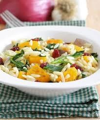 roasted ernut squash orzo salad recipe