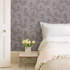 NuWallpaper 30.75-sq ft Grey Vinyl ...