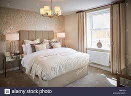Main Bedroom Show Home Interior Main Bedroom Adult Cream Magnolia Calm Space