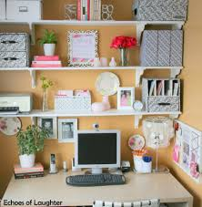 organizing your home office. 1. Use A Desk And Shelves Above As Foundation. Organizing Your Home Office M