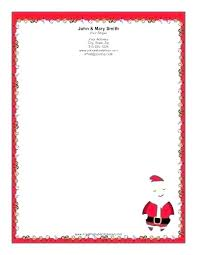 Holiday Stationery Free Word Templates Beautiful Letterhead