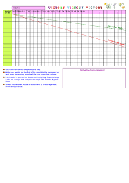 Weight Loss Chart Printable Pdf Download