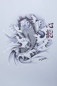 40 карточек в коллекции эскизы татуировок карпа кои пользователя