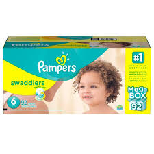 pampers swaddlers size 2 132 count pampers swaddlers diapers size 4 132 ct walmart com