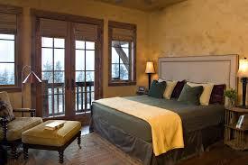 image of rustic french door window treatments