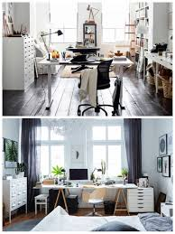 ikea office space. Beautiful Office Above Are Two Different Home Office Spaces One Is A Shared Bedroomoffice  And Dedicated Space But Both Open Airy Functional  To Ikea Office Space