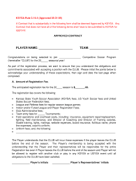 Invoices shall be submitted in an itemized format and shall be paid by advertiser within thirty (30). Football Contract Template Fill Out And Sign Printable Pdf Template Signnow