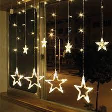 12'li Yıldız Led Zincir Beyaz Işık - Bauhaus