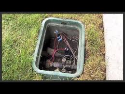 repair a hunter pgv 101g sprinkler valve