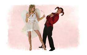 valentine s day cupid and devil costumes