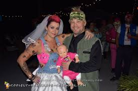 white trash bride costume