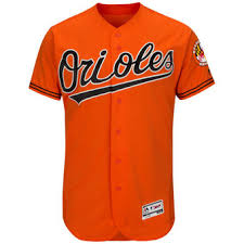 Wild Mens Bill's Gear Apparel Authentic Team Sports Orioles Jerseys Baltimore Jersey Orange