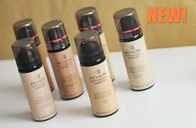revlon photoready airbrush mousse makeup foundation