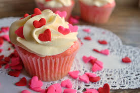 Decorating With Sprinkles Valentines Day Cupcakes