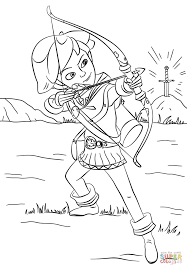 Small Picture Robin Hood from Mischief in Sherwood coloring page Free