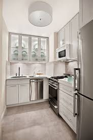 For Breakfast Bars For Small Kitchens Small Apartment Kitchen Design White Wall Cornered Small Kitchen