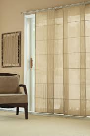 dining room sliding door window treatments idea images | ... Sheer Sliding  Panel Window